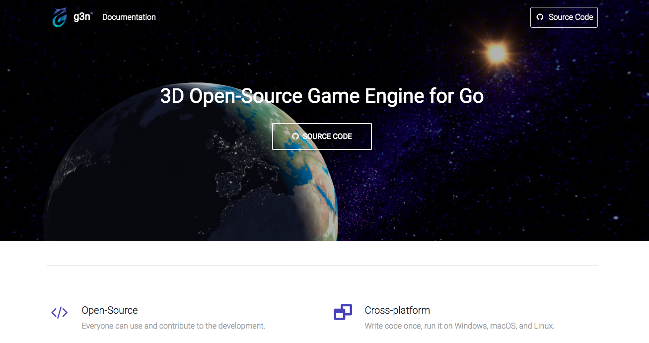 Go 3D Game Engine