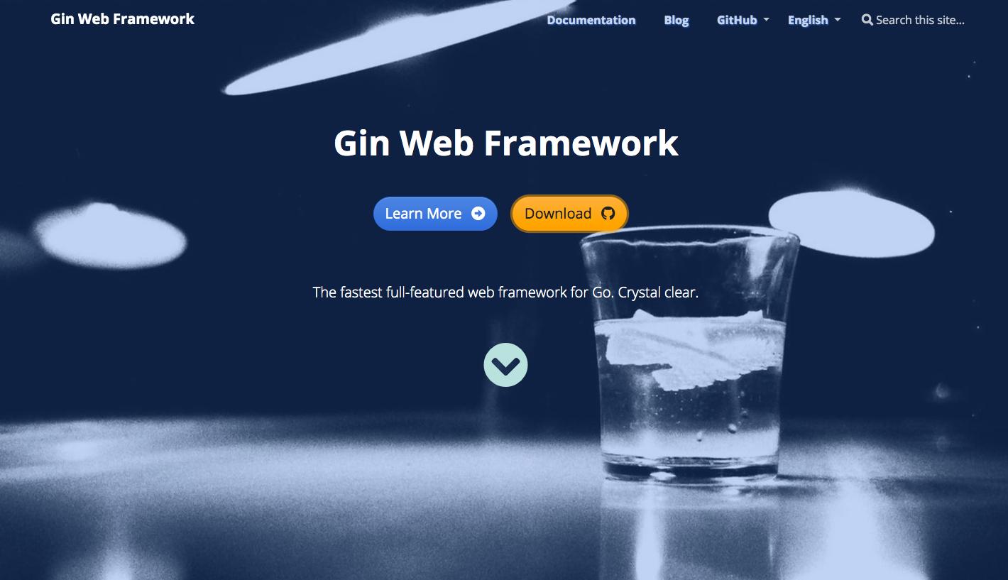 Gin Gonic Web Framework