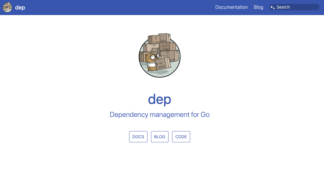 Dep - Go dependency management tool