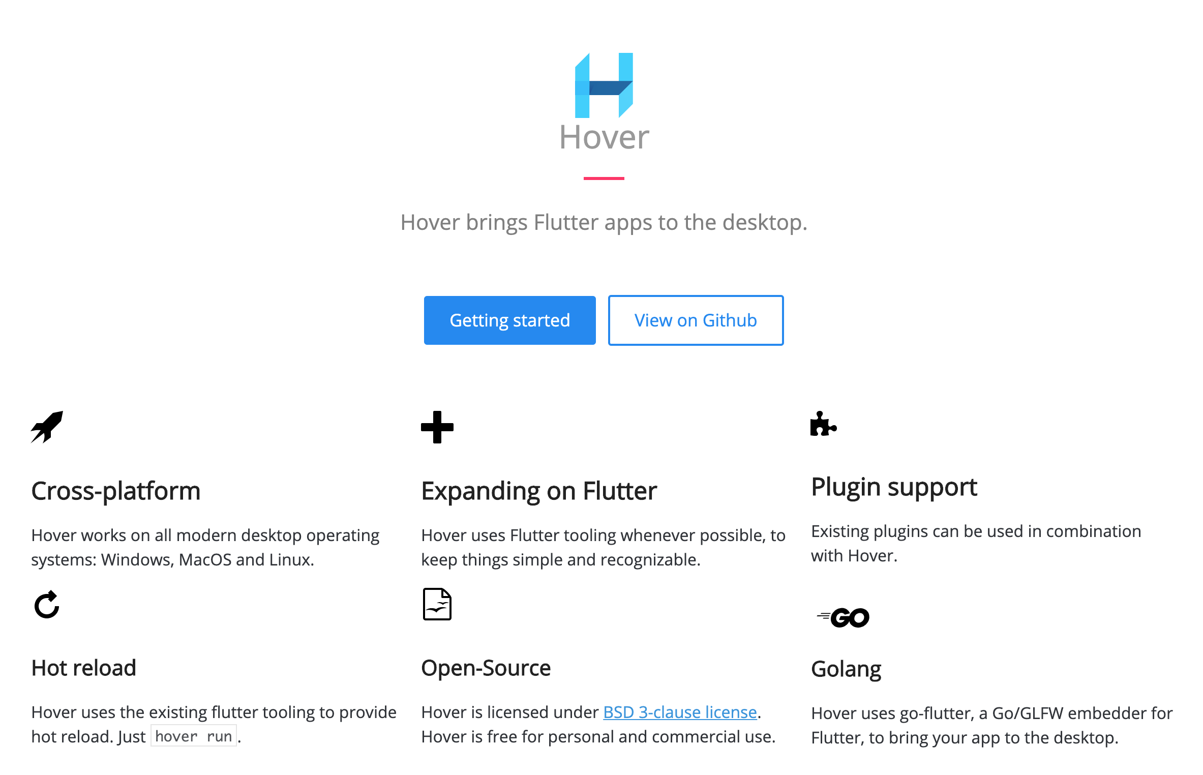 Hover brings Flutter apps to the desktop