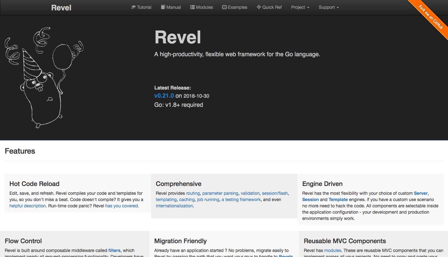 Revel Web Framework